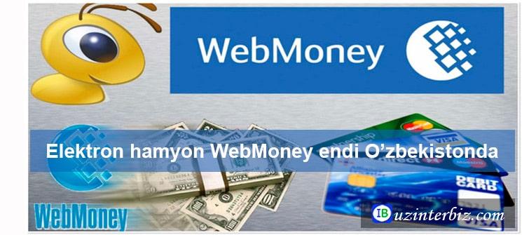 Webmoney ochish